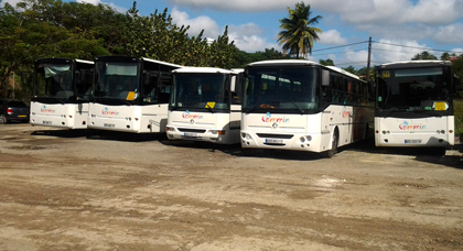 location bus Guadeloupe